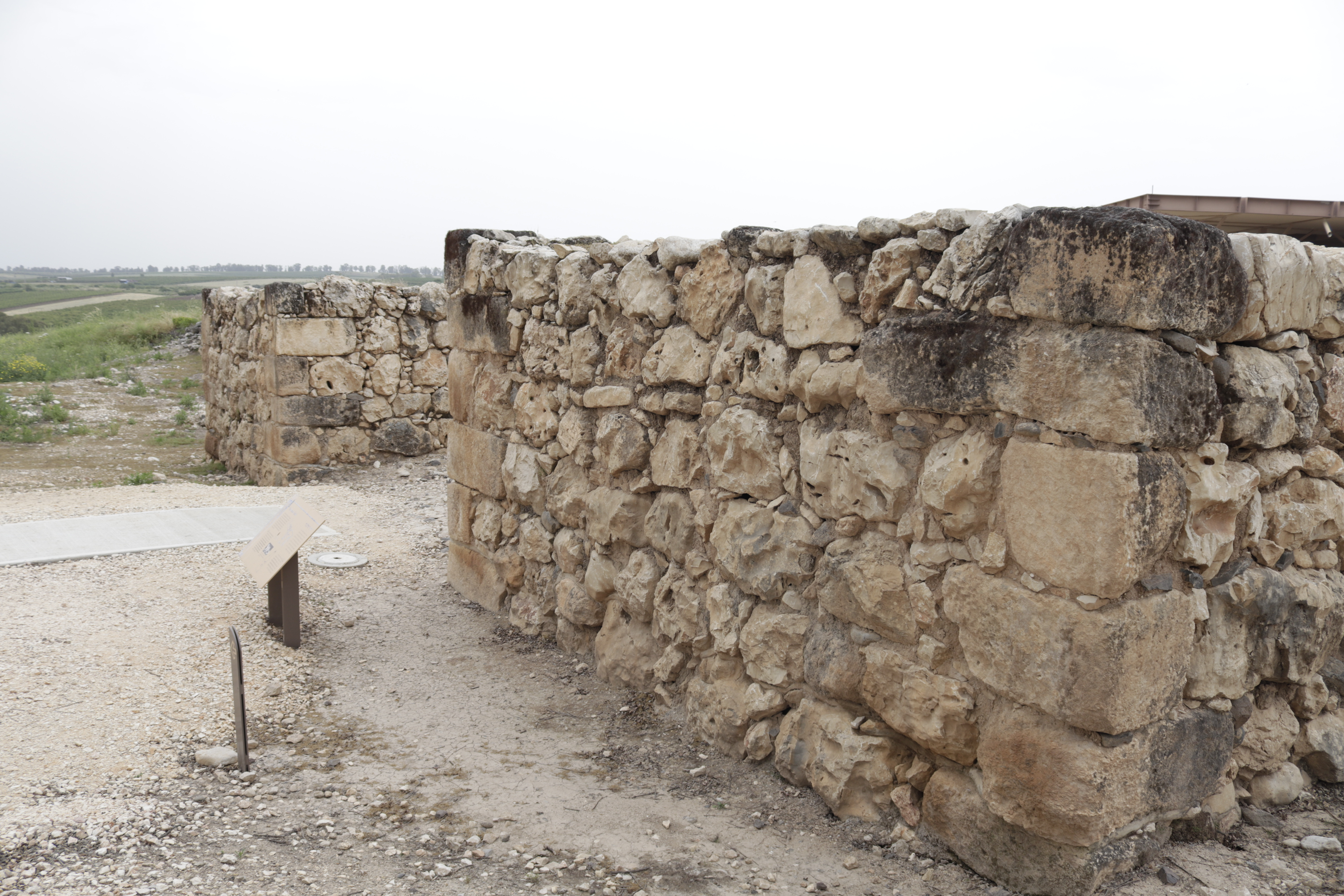 Hazor: city gate